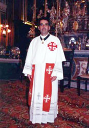 Rev. Fr. Anthony Chricop, OFM, Commissary of the Holy Land Malta – Chaplain