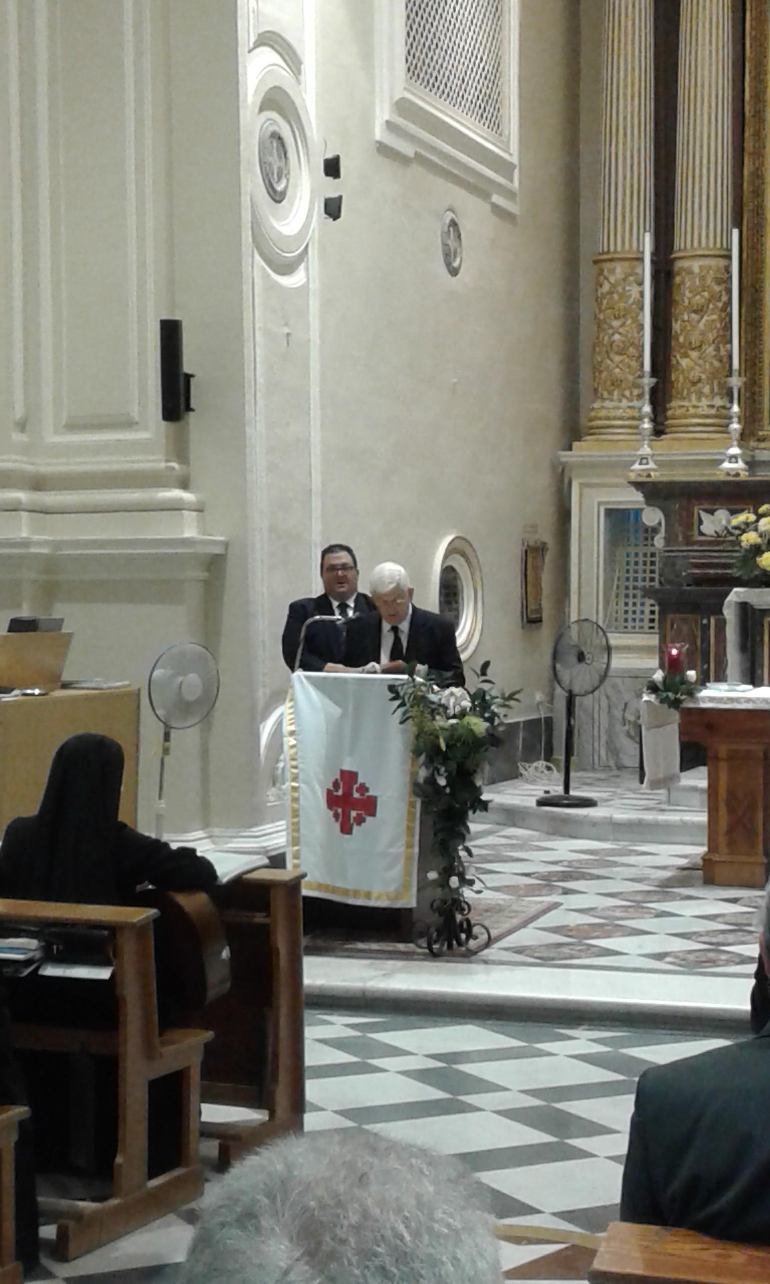 Second reading by H.E. the Lieutenant Emeritus KtGrCross Victor Licari