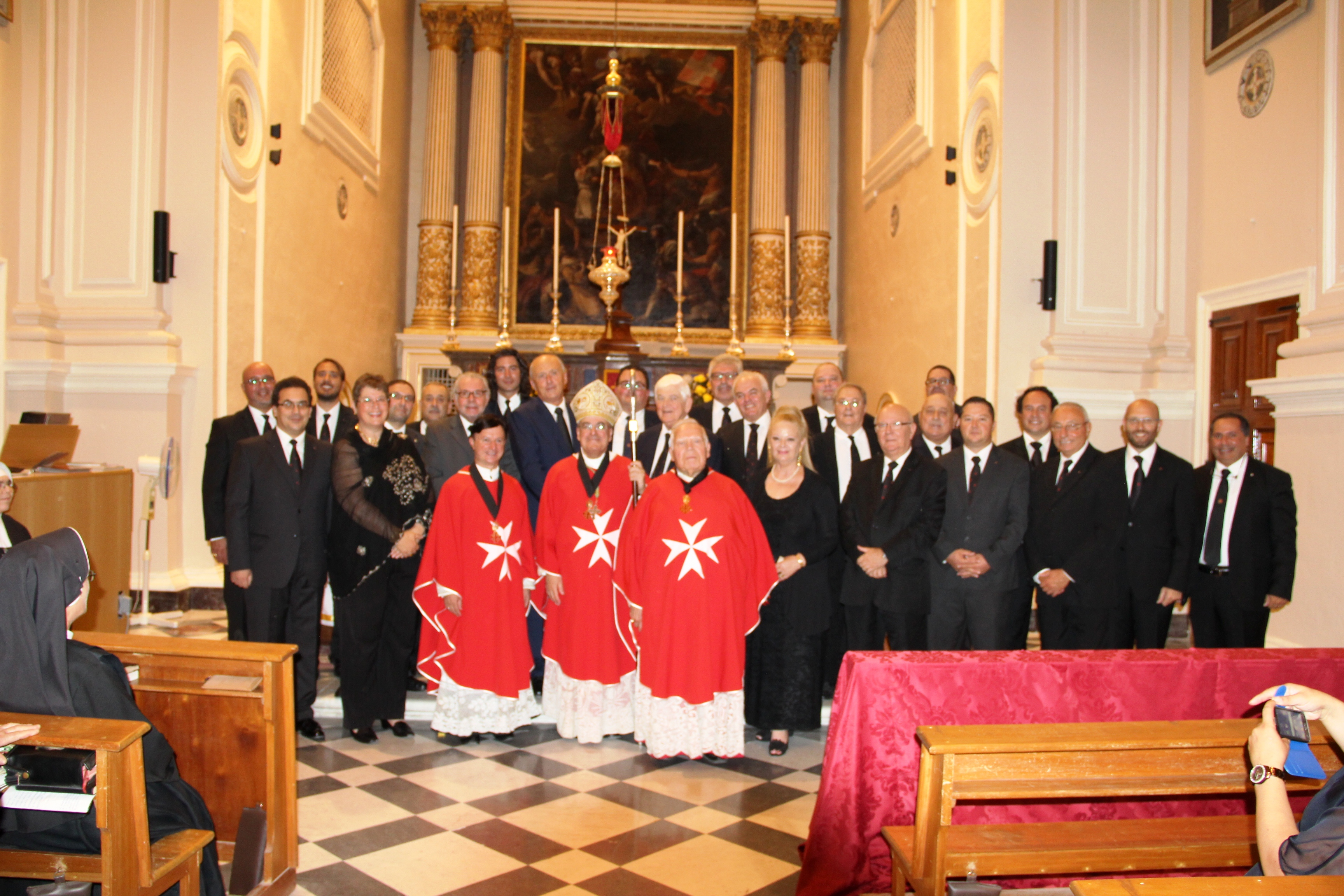 Group Photo - Knights and Dames of the Maltese Lieutenancy